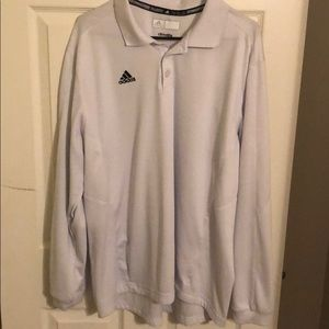 Men's Long Sleeve Adidas Golf Shirt